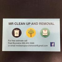 MR CLEAN UP AND REMOVAL