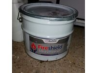 Fireshield Ultra Universal Intumescent Paint for exterior and interior steel 10L
