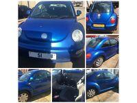 Vw Beetle Hatchback 2001 blue 1.6 Front Bumper All Parts Available