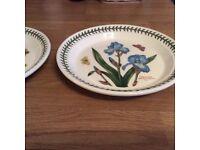 Two portmereion side plates