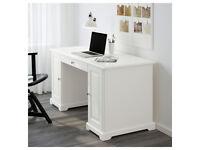 Desk - IKEA LIATORP Desk White