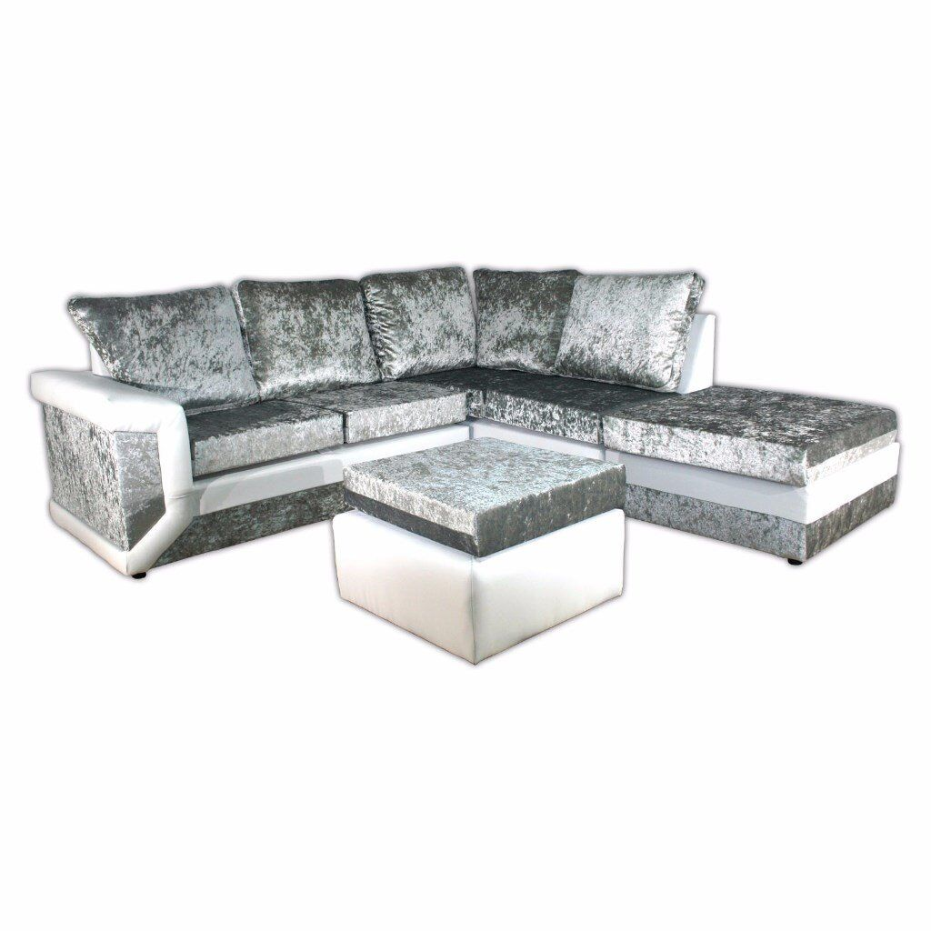 Special Offer Brand New Dino Max Diomand Crush Velvet Sofas With Express Delivery