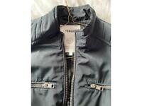 Dark blue bomber jacket