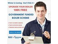 FREE CENTRAL HEATING - FREE BOILER - FREE VAILLANT- free WORCESTER BOSCH