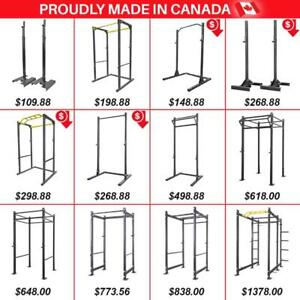 Power Rack Full Cage Squad Stand Stands Half Monkey Rack Rig MADE in CANADA