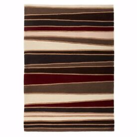 Lovely Striped Rug, Get ready for the cold days and nights.
