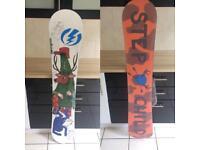 Joe Sexton Snowboard