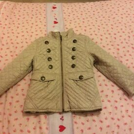 Girls next jacket age 3-4years