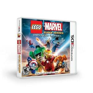 NEW LEGO MARVEL SUPER HEROES UNIVERSE IN PERIL NINTENDO 3DS FREE SHIPPING