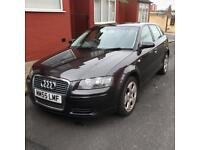 Audi A3 5 door hatchback diesel 2.0 tdi in gunmetal grey beautiful car be quick get a bargain !!