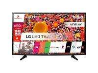 LG 49UH610V 49 inch 4K Ultra HD Smart LED TV with Ultra Slim Design