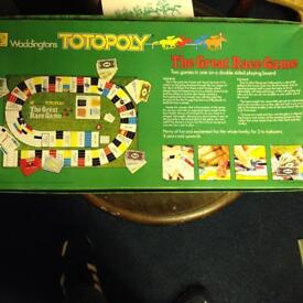Retro Totopoly Board Game