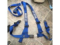 2 Sparco Harnesses