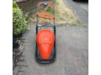 flymo lawn mower, used, just been serviced,surplus to requirements