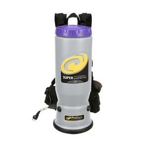 Proteam Super QuarterVac 6 qt. Backpack Vacuum