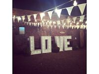 5ft LOVE LETTER HIRE in Dorset, Hampshire & Surrounding areas