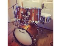 Refurbished Premier Drum Kit // Premier Royale // Gorgeous Wood Finish // Free Local Delivery