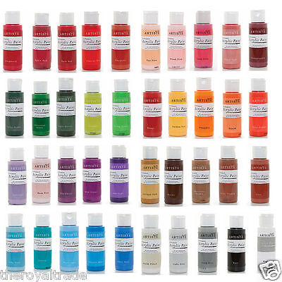 Artiste All Purpose Acrylic Paint 2Oz (59ml) - Available In Lovely Colours