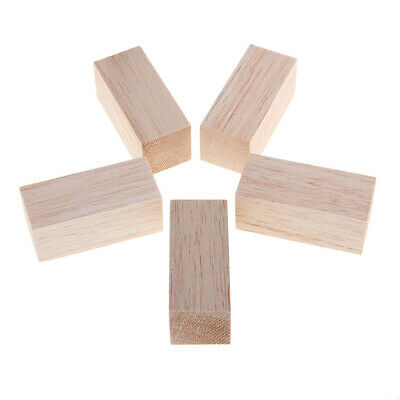 3/5 Stücke DIY Holz Handwerk Sticks Natürliche Unfinished Balsaholz Stick - Unfinished Holz