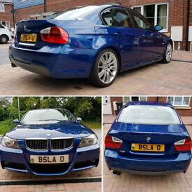 One of a kind 08' BMW E90 325d M-Sport package, Full Service History, Mint condition!