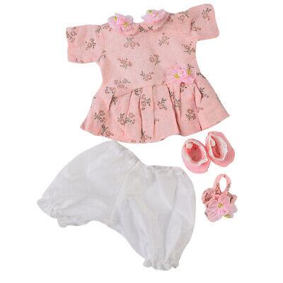 Puppen Kleidung Anzug für 16 17 '' Baby Dolls Dress up Zubehör Kid ()