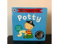 Potty and Potty training book