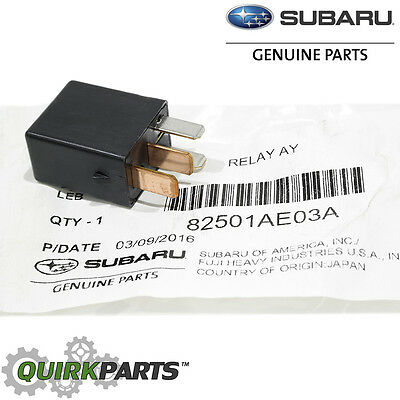 1998 2017 Subaru Relay Starter Fuel Pump Window All Models OEM NEW 82501AE03A