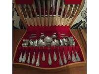 55 Piece Vintage cutlery set in presentation box