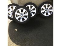 """BMW alloys 16"""" from a 3 series or 1 series"""