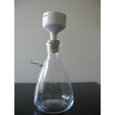 Porcelain Buchner Funnel Lab Filtration Filter Porous Funnel 40mm