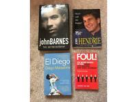 Football Autobiography Books Maradona Barnes