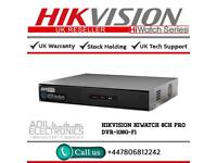 Hikvison HiWatch 8 Channel Turbo-HD TVI PRO DVR-208G-F1