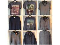 Mixture of men's clothes