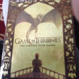 Game of thrones DVD boxsets