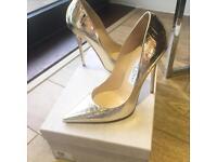 JIMMY CHOO Shoes Gold