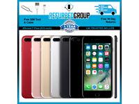 Apple iPhone 7 PLUS 64GB 128GB 256GB Unlocked Smartphone All Colours / GRADES: B - A - A+