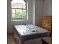 Double bedroom to let in flatshare at Bow church & Stratford