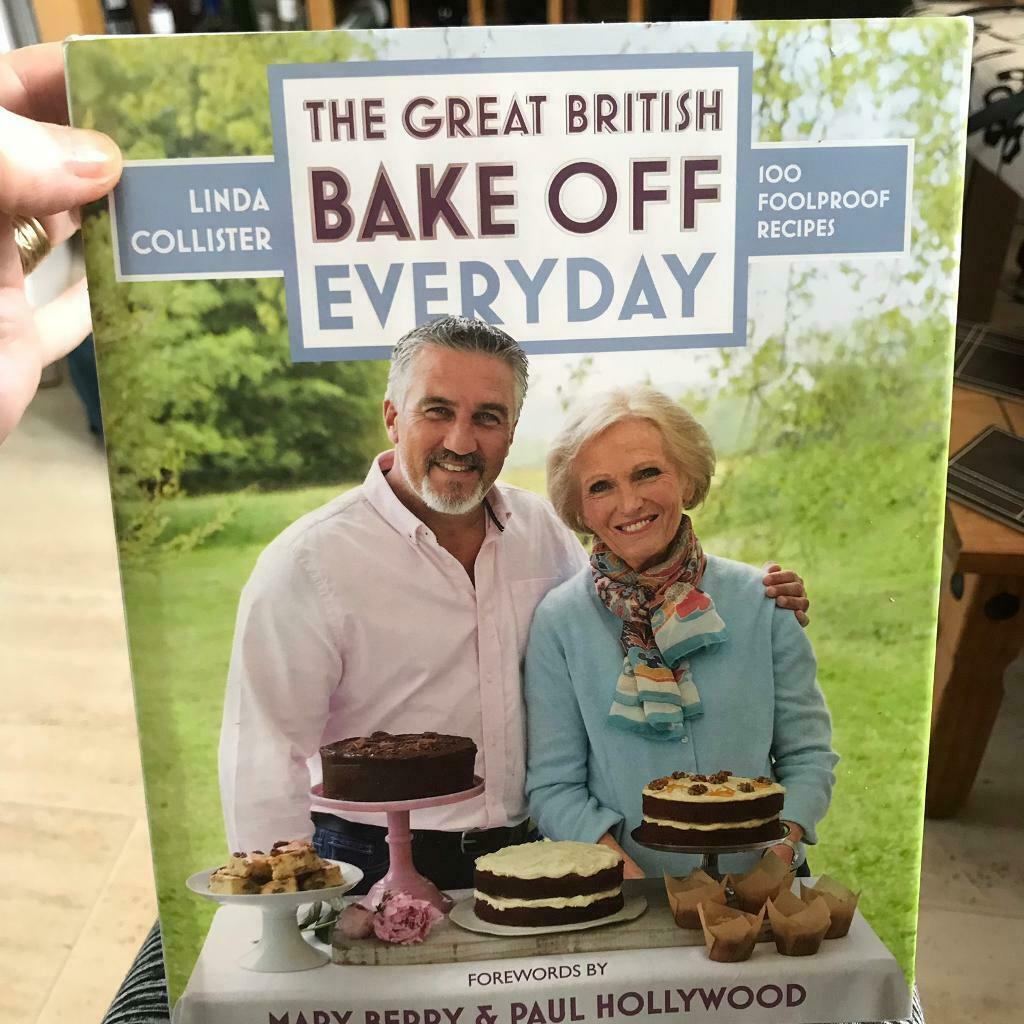 The Great British Bake Off Everyday Recipe Book In Caerphilly Gumtree