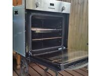Single electric oven