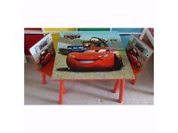 Cars Children's table and chairs