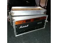 Marshall rackmounted 9005 & Boss GX700