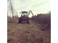 Hedge/verge cutting
