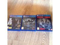 Ps4 games ,Xbox 360 games,PlayStation 2 games