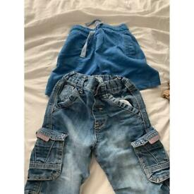 Boys shorts 2-3