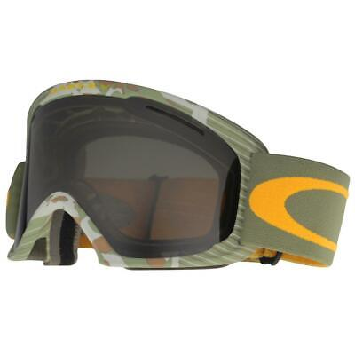 10ca8bf91b Oakley 59-498 O2 XL High Country Green Camo w  Dark Grey Lens Snow Ski  Goggles .