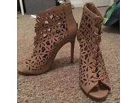 Primark heels, size 5, brand new