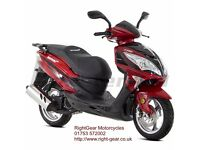 *Brand New* 66 Plate Lexmoto FMS 125 Scooter. Warranty. Free Delivery. Main Dealer 10-10