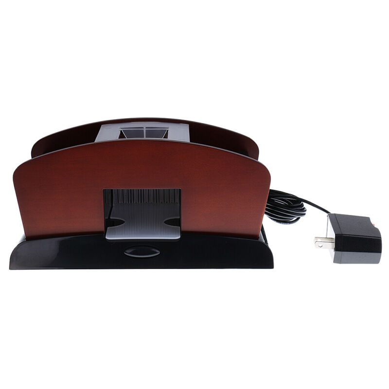 1pc Automatic Card Shuffler 2 Deck Double Use Playing Card Shuffling Machine