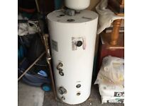 Hot Water Cylinder/Tank 150 Litre Capacity, Indirect