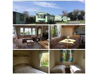 Caravan for hire Nr Llanrwst, 6 miles from Betws-y-Coed. Six berth ,dogs welcome!